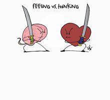 FEELING VS THINKING Unisex T-Shirt