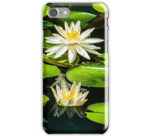White Lily Pad iPhone Case/Skin