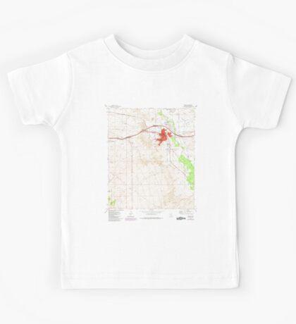 USGS TOPO Map Arizona AZ Benson 310438 1973 24000 Kids Tee
