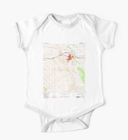 USGS TOPO Map Arizona AZ Benson 310438 1973 24000 One Piece - Short Sleeve