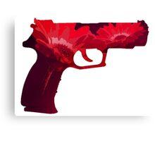 Flower-Gun Canvas Print