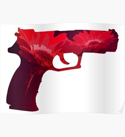 Flower-Gun Poster