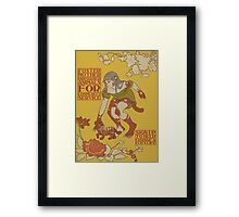 Tiger Cubs Change Your Life Framed Print
