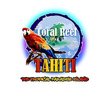 TAHITI Summer In Paradise Photographic Print