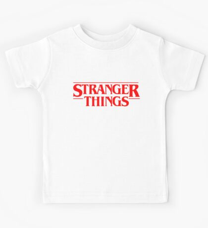 stranger things quotes Kids Tee