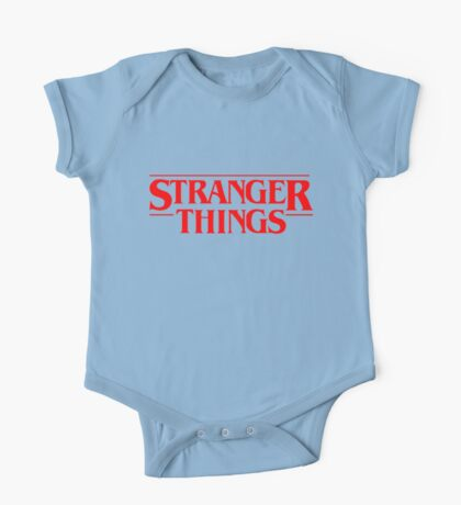stranger things quotes One Piece - Short Sleeve