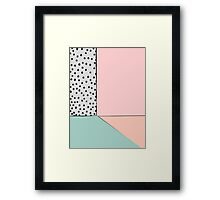 Abstract Interior Framed Print