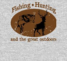 Fishing and Hunting Unisex T-Shirt