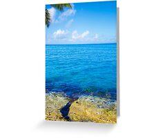 Beautiful Sea landscape Greeting Card