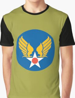 US Army Air Corps Hap Arnold Wings Graphic T-Shirt