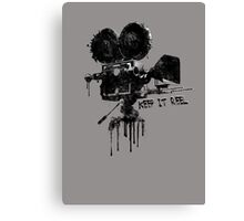 Keep it Reel. Canvas Print