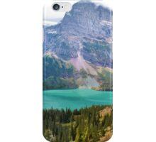 Grinnel Lake, Montana_ American Cutouts iPhone Case/Skin