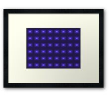 Lights on Framed Print