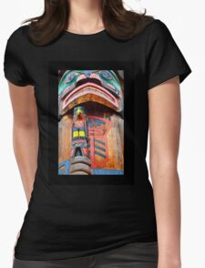 TOTEM 1  Womens Fitted T-Shirt