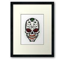 Sugar Skull Series - The Joker Framed Print