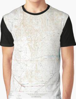 USGS TOPO Map Arizona AZ Florence Junction 311344 1966 24000 Graphic T-Shirt