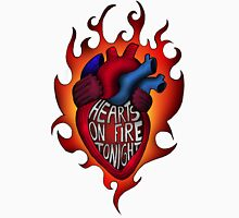 Hearts on fire tonight Unisex T-Shirt