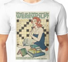 What Is An 11-Letter Word For Werewolf? Unisex T-Shirt