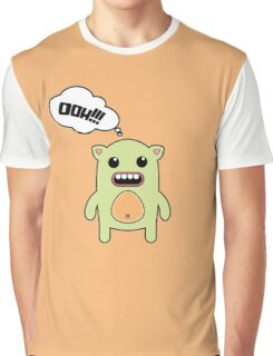 Cartoon monsters in a flat style. OOH!!! Graphic T-Shirt