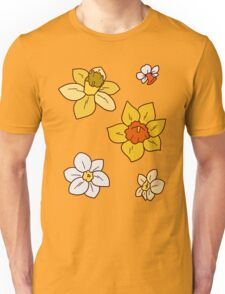 Colorful Daffodils Unisex T-Shirt