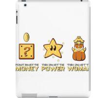 Mario Bros. Scarface - Money Power Woman iPad Case/Skin