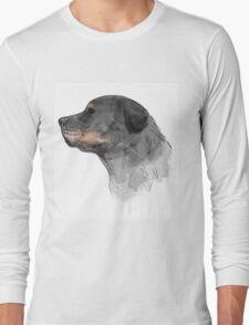 Rottweiler Dog Long Sleeve T-Shirt