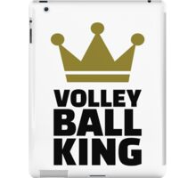 Volleyball king crown iPad Case/Skin