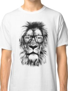 The king lion of the library Classic T-Shirt