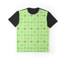 For the love of Watermelon - green background Graphic T-Shirt