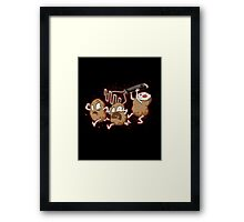 The Masher Framed Print