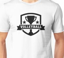 Volleyball trophy Unisex T-Shirt