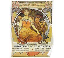 Alphonse Mucha - Exposition Universelle  Internationale De St Louis Poster
