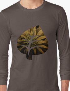 Leaf Green Long Sleeve T-Shirt