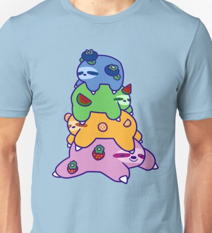 Fruit Sloth Stack Unisex T-Shirt