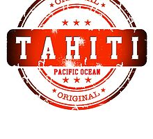 TAHITI Stamp by dejava
