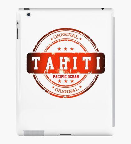 TAHITI Stamp iPad Case/Skin