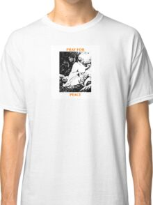 Pray for Peace tee Classic T-Shirt