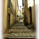 Medieval alley in Mercogliano, Province of Avellino, Campania, Italy by Rachel Veser