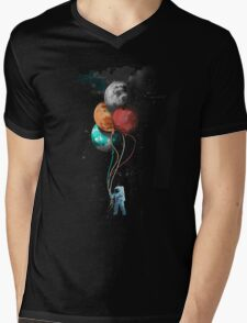 The spaceman's trip Mens V-Neck T-Shirt