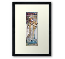 Alphonse Mucha - Gismonda  Framed Print