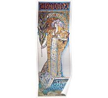 Alphonse Mucha - Gismonda  Poster