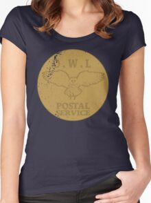 OWL postal service Women's Fitted Scoop T-Shirt