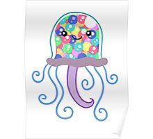 Gumball Machine Jellyfish Poster