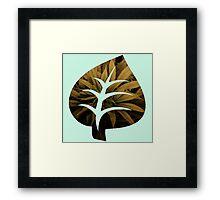 Leaf Green Framed Print