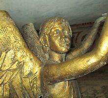 Statue of angel 1 by Furiarossa