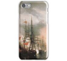 Aivasovsky Ivan - Battle Of Sinope iPhone Case/Skin