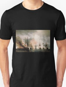 Aivasovsky Ivan - Battle Of Sinope Unisex T-Shirt
