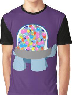 Gumball Machine Tortoise Graphic T-Shirt
