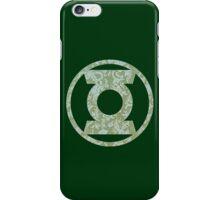 Green Lantern Logo 03 iPhone Case/Skin