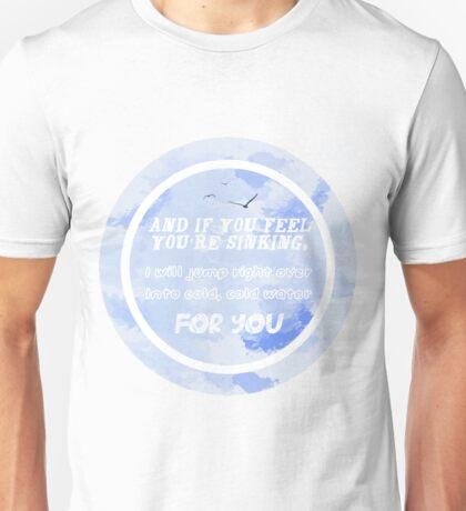 Justin Bieber - Cold Water Unisex T-Shirt
